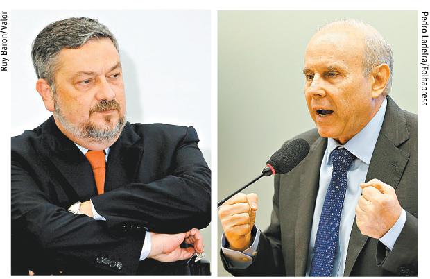 Antonio Palocci e Guido Mantega