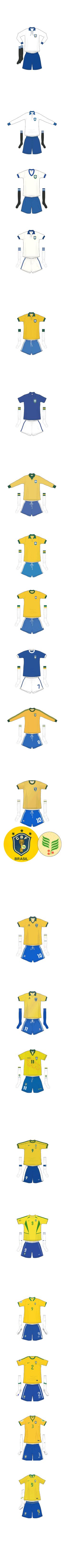 Evolução da camisa brasileira 069e5ed65b83f